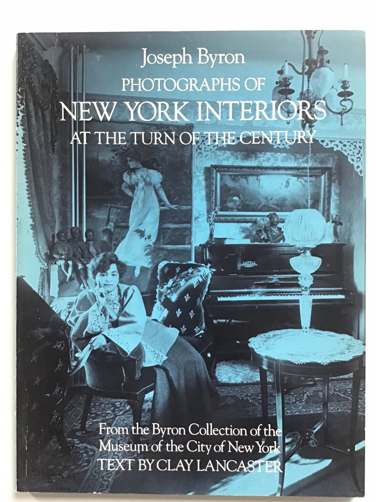 Photographs of New York Interiors at the Turn of the Century