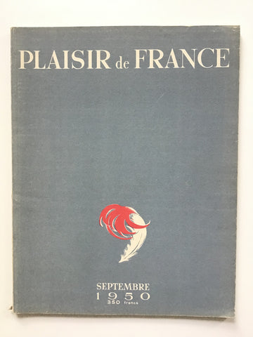 Plaisir de France Septembre 1950