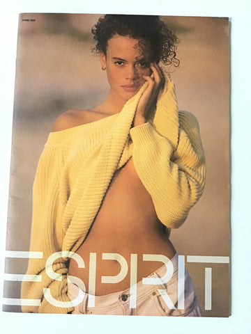 Esprit catalogue, Spring 1990.
