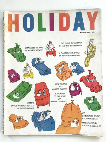 Holiday magazine August 1962