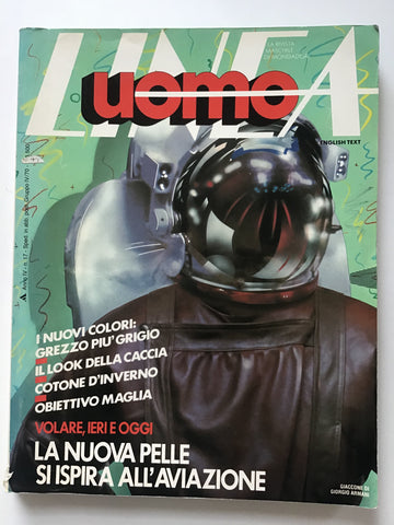 Uomo Linea Italiana  autunno/ Inverno 1981 (Autumn Winter)