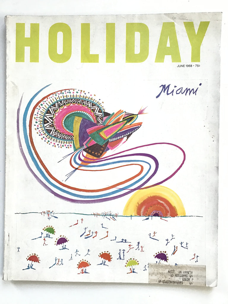 Holiday magazine June 1968