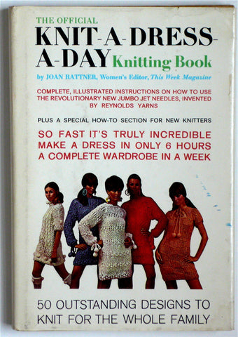 The Official Knit-A-Dress-A-Day Knitting Book