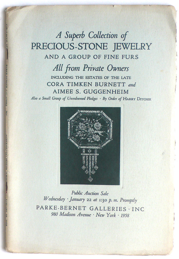 A Superb Collection of Precious-Stone Jewelry and a Group of Fine Furs