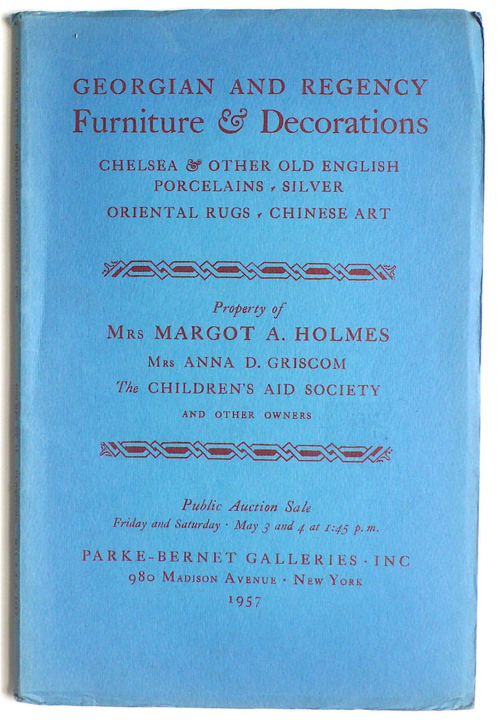 Georgian & Regency Furniture & Decorations