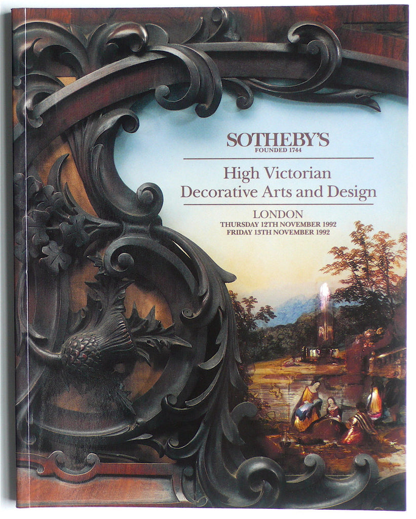 High Victorian Decorative Arts and Design