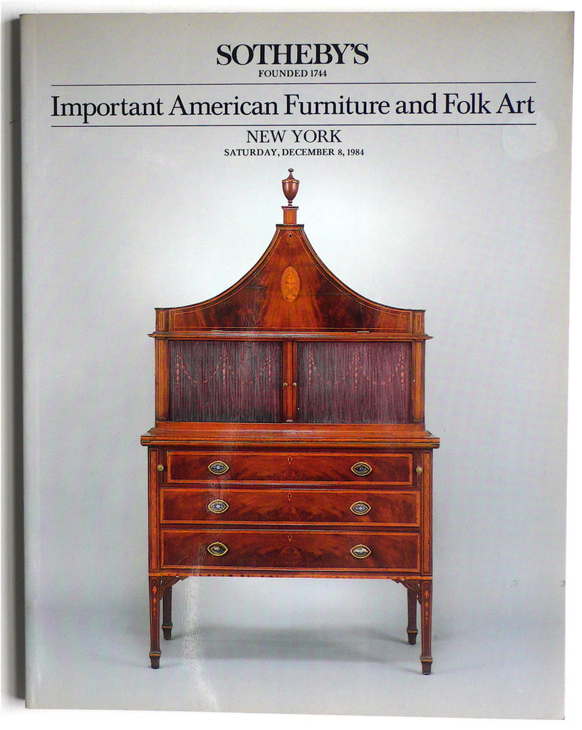 Important American Furniture and Folk Art