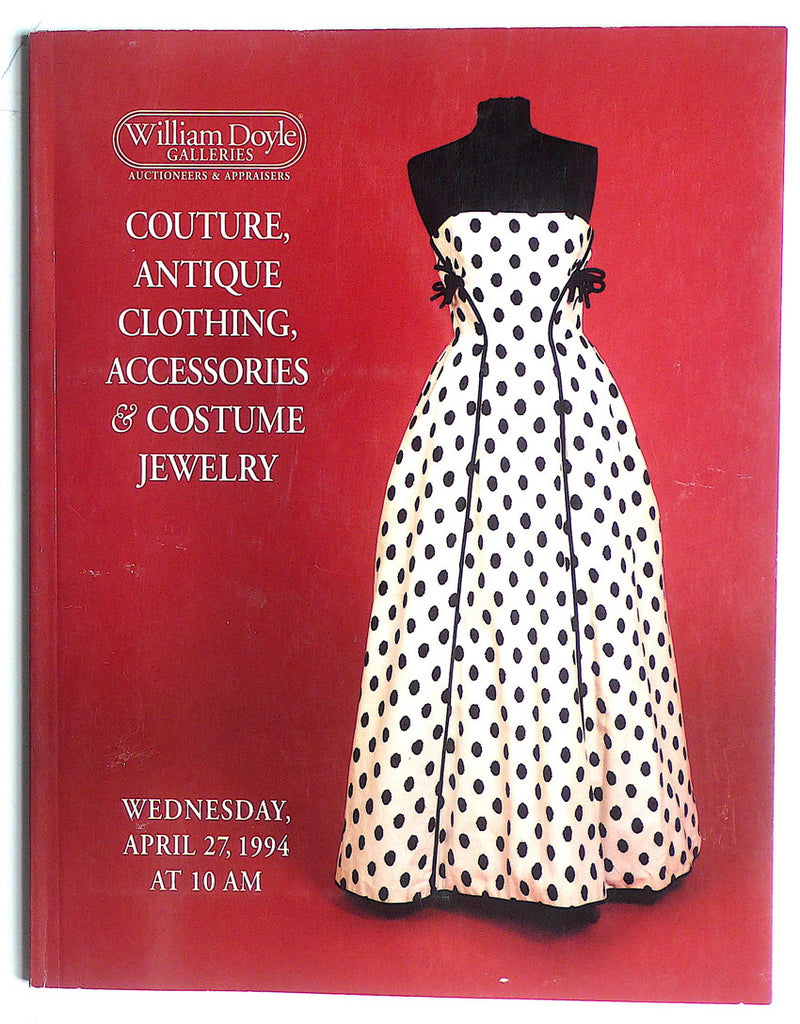 Couture, Antique Clothing, Accessories & Costume Jewelry