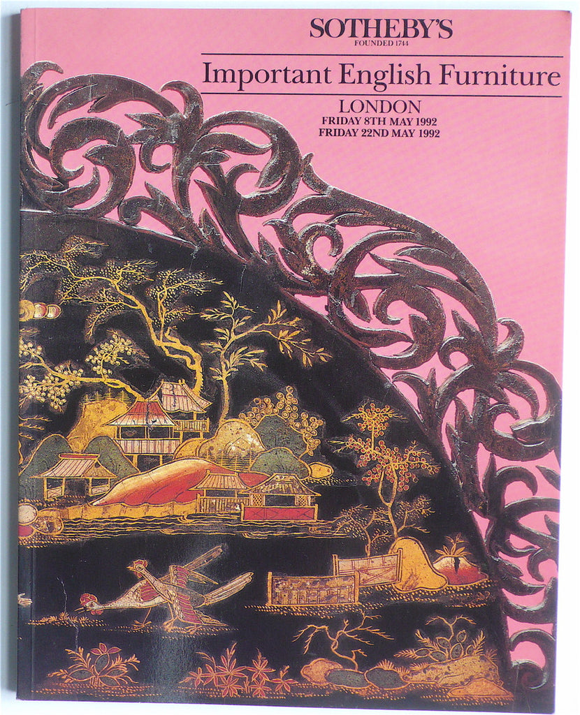 Important English Furniture