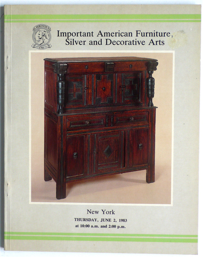 Important American Furniture, Silver and Decorative Arts