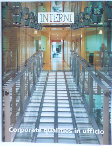 Interni 'La Rivista dell'arredamento'  Corporate Qualities  1994