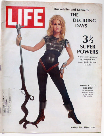 'Barbarella' issue of Life, 1968
