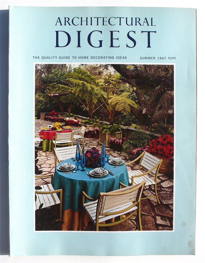 Architectural Digest Summer 1967