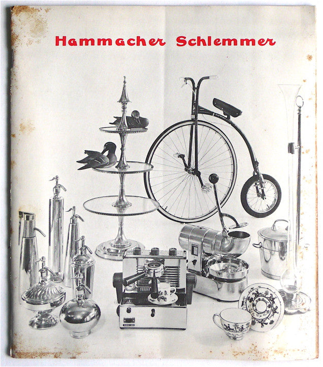 Hammacher Schlemmer  (catalogue from the 1960s)
