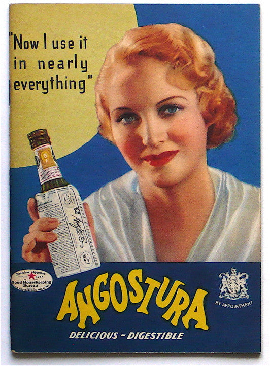 Angostura- book of recipes