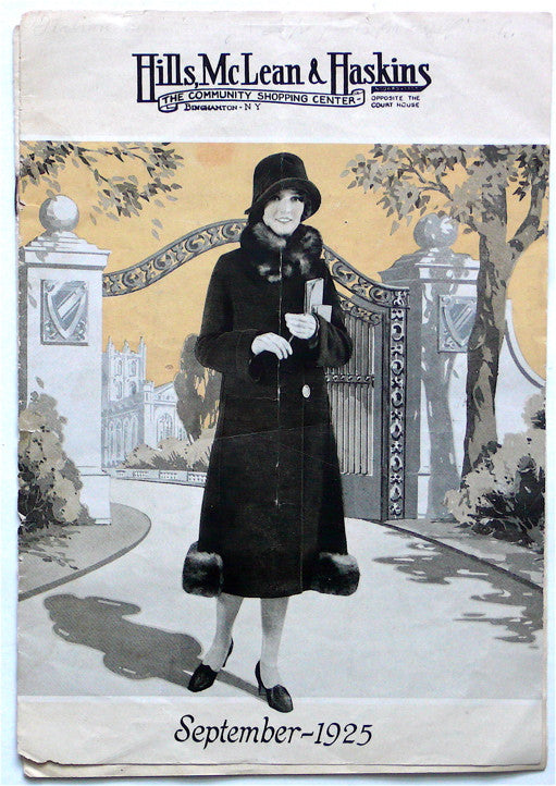 Hills, McLean & Haskins, fashion catalogue September 1925