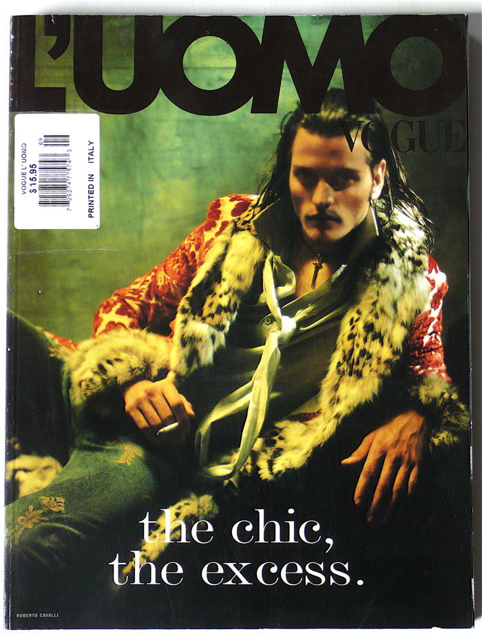 L'Uomo Vogue September 2002 n. 333