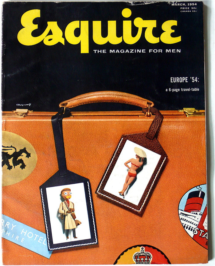 Esquire: The Magazine for Men  March 1964