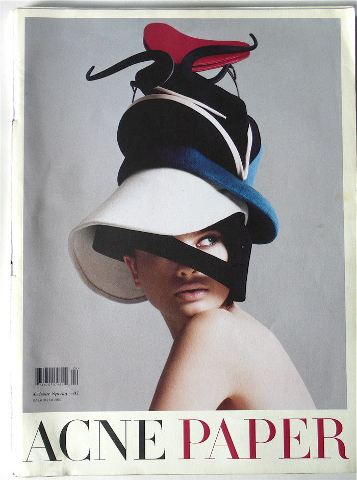 Acne Paper 7th Issue- Spring 2007