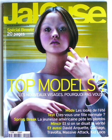 Jalouse Juin 1998 Top Models