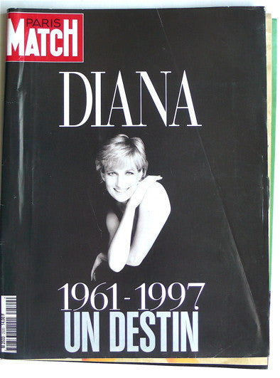 Paris Match  Septembre 1997  Diana
