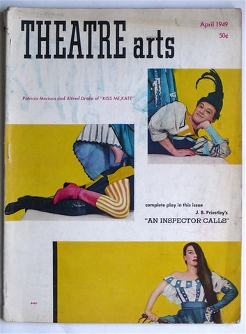 Theatre Arts April 1949  Truman Capote