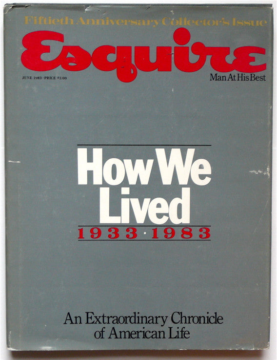 Esquire Fiftieth Anniversary Collector's Issue