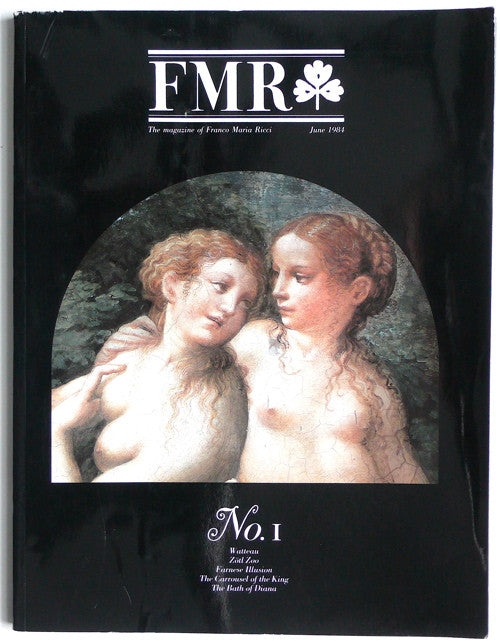 FMR No. 1  The magazine of Franco Maria Ricci