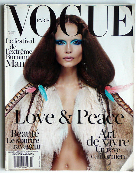 Paris Vogue Novembre 2010 no 912
