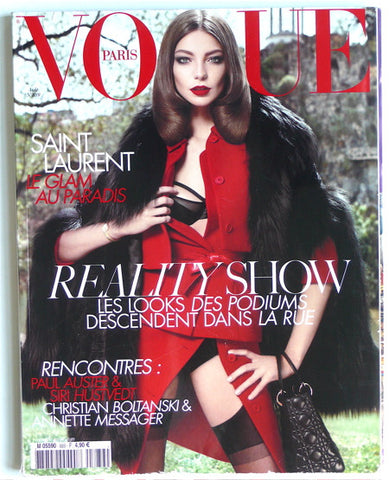 Vogue Paris Aout 2008 no 889