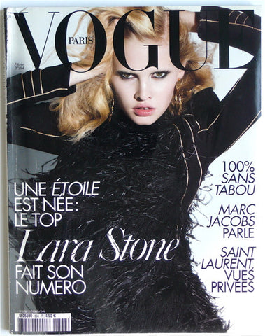 Lara Stone Paris Vogue