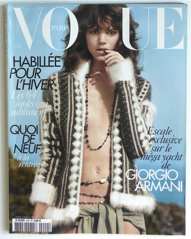 Vogue Paris Aout 2010 no 909