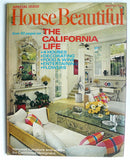 House Beautiful  March 1971 'The California Issue'