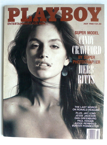 Playboy: Herb Ritts photographs Cindy Crawford
