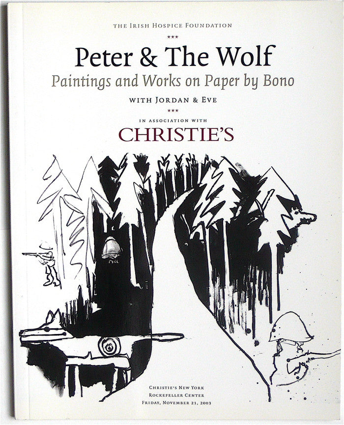 Peter & the Wolf: Paintings and Works on Paper by Bono