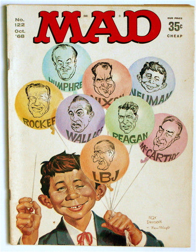 Mad magazine October 1968