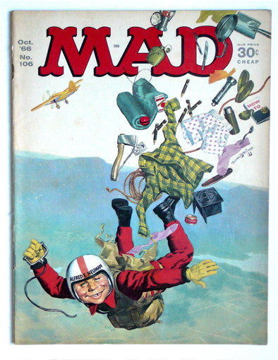 Mad magazine October 1966