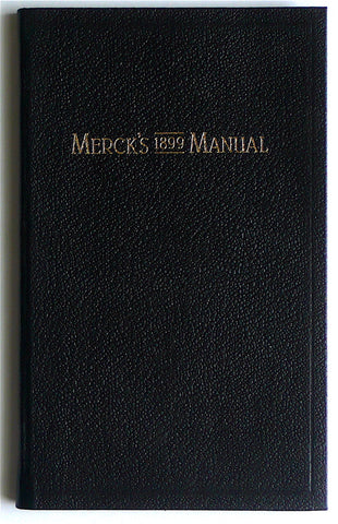 Merck's 1899 Manual