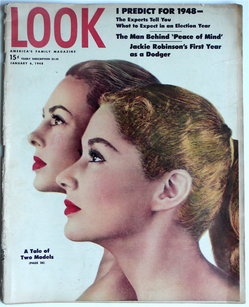 Look magazine January 6, 1948 Lisa Fonssagrives