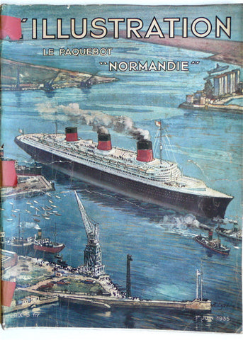 "L'Illustration ""Normandie"""