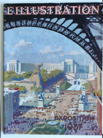 L'Illustration 29 Mai 1937 'Exposition 1937'