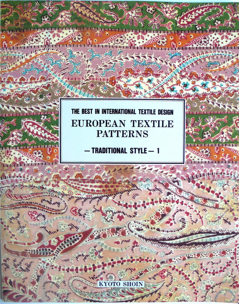 The Best in International Textile Design  European Textile Patterns- Traditional Style 1