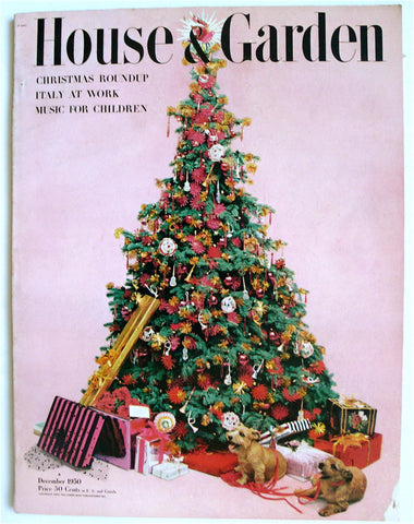 House & Garden December 1950  Carlo Mollino feature