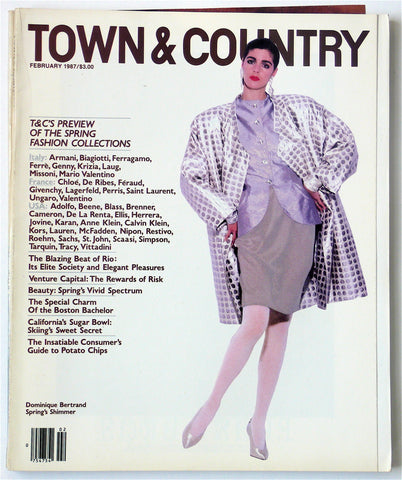 Town & Country February 1987