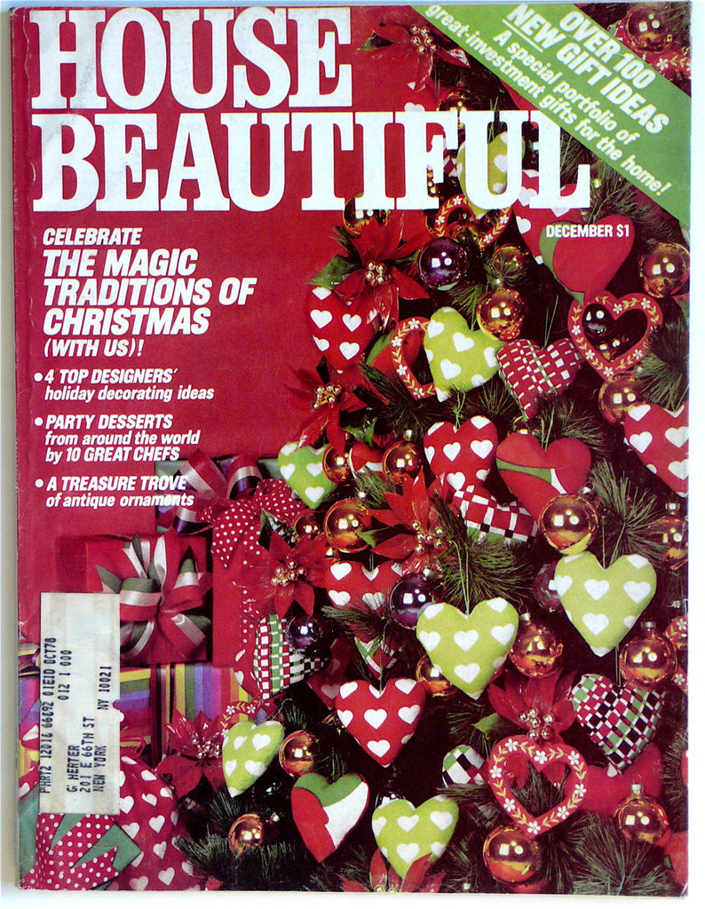 House Beautiful December 1977  Mark Hampton