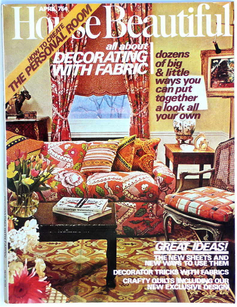 House Beautiful  April 1974