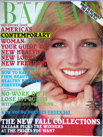 Harper's Bazaar September 1976 Cheryl Tiegs