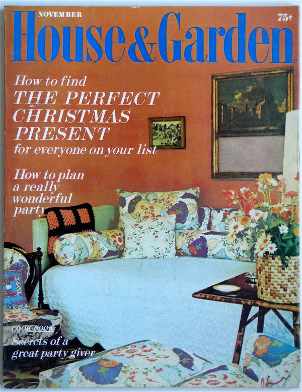 House & Garden November 1970 Quasar Khanh
