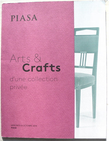 Arts & Crafts d'une collection privee
