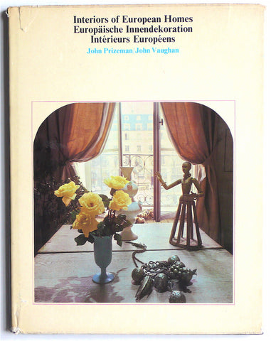 Interiors of European Homes 1970